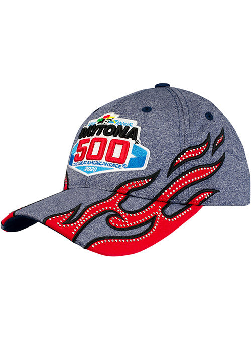 Ladies 2020 DAYTONA 500 Rhinestone Flames Hat