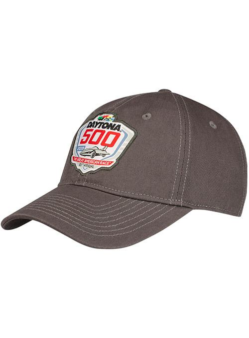 2019 Daytona 500 Grey Logo Hat