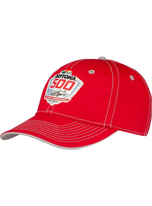 2019 Daytona 500 Red Logo Hat