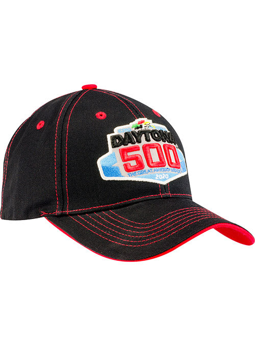 2020 Daytona 500 Black Contrast Stitch Hat