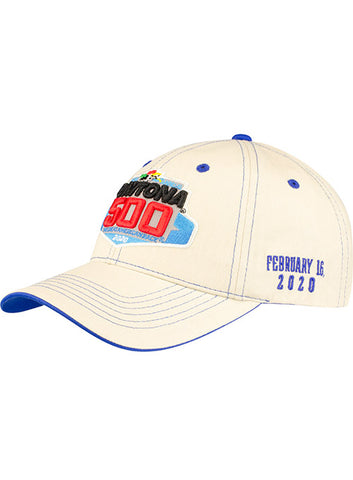2020 Daytona 500 Navy Contrast Stitch Hat