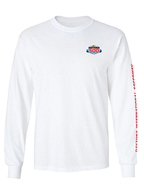 2020 DAYTONA 500 Long Sleeve T-Shirt