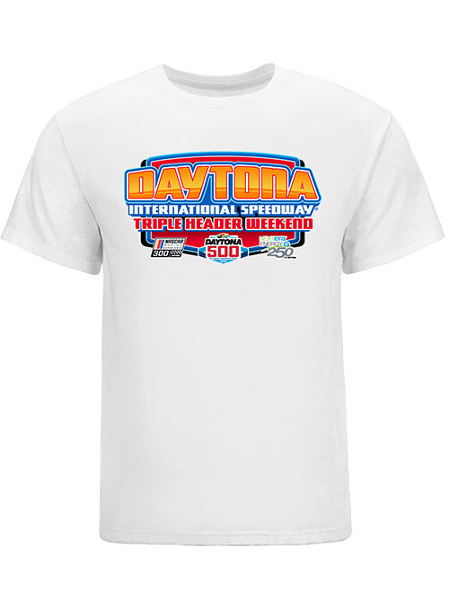 2020 DAYTONA 500 Triple Header T-Shirt