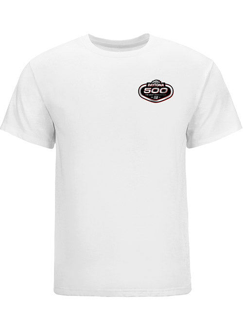 2021 DAYTONA 500 White Event T-Shirt