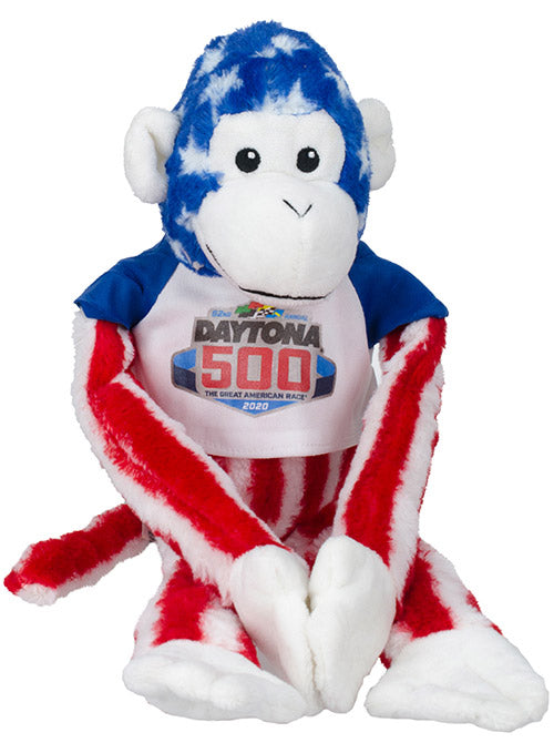 2020 DAYTONA 500 Plush Monkey