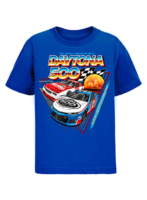 Youth 2021 DAYTONA 500 Past Champions T-Shirt
