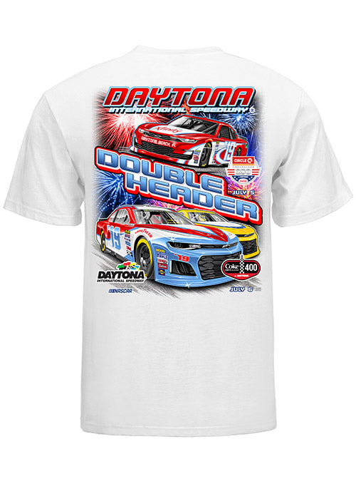 2019 Coke Zero Sugar 400 Double Header T-Shirt