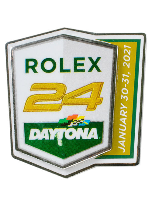 2021 Rolex 24 at Daytona Layered Hatpin