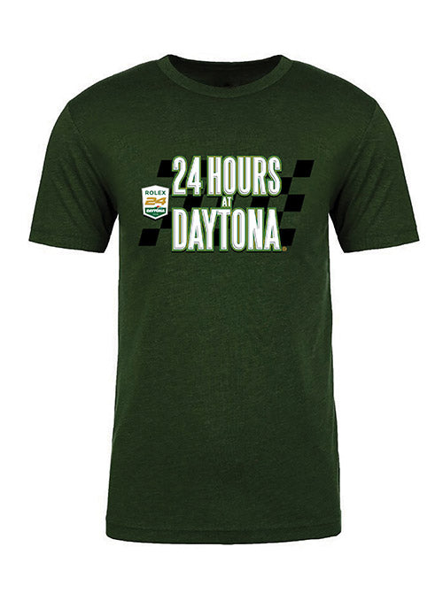 Rolex 24 Checkered 24 Hour T-Shirt