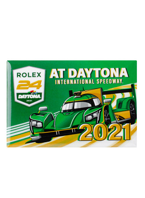2021 Rolex 24 at Daytona Button Magnet