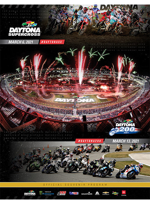 2021 Daytona Bike week Program