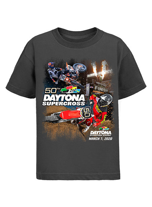 Youth Daytona International Speedway 50th SuperCross Event T-Shirt