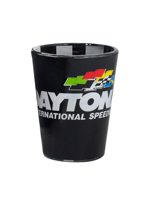 Daytona International Speedway Checkered Shot Glass
