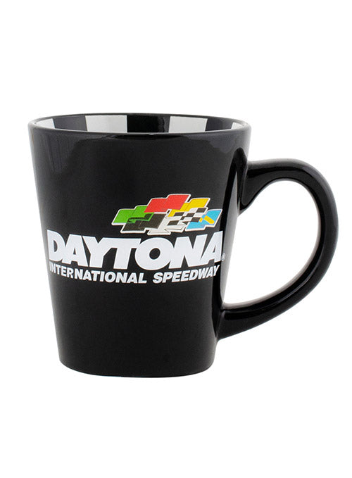 Daytona International Speedway Checkered Coffee Mug