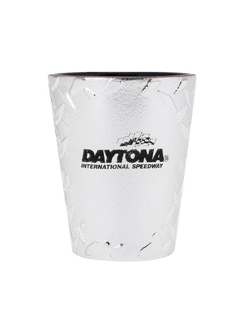Daytona International Speedway Diamond Plate Shot Glass