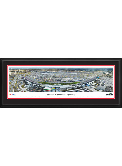 Daytona International Speedway Deluxe Frame Day Panoramic Photo
