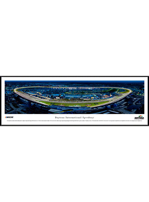 Daytona International Speedway Standard Frame Night Panoramic Photo