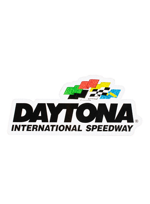 Daytona International Speedway Glitter Decal