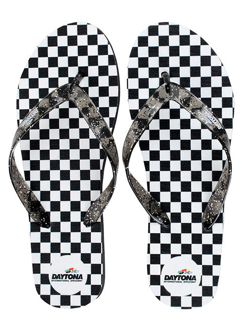 Ladies Daytona International Speedway Flip Flops