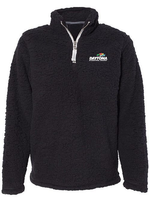 Ladies Daytona International Speedway Sherpa Quarter Zip