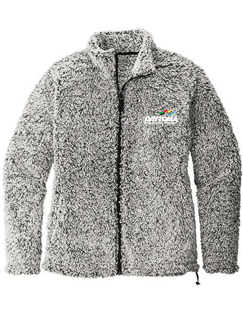 Ladies Daytona International Speedway Sherpa Full Zip Jacket