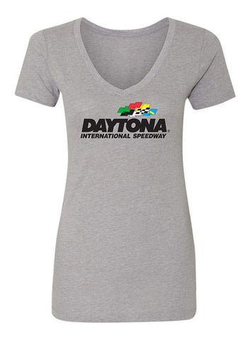 Ladies Daytona International Speedway 3/4 Sleeve T-Shirt