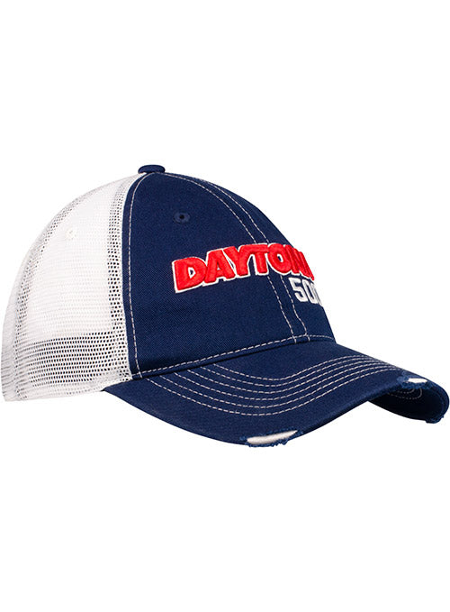 DAYTONA 500 Worn Trucker Hat