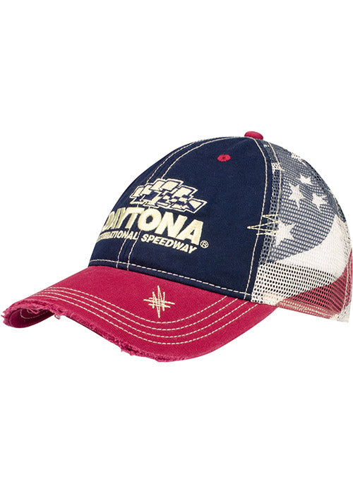 Daytona International Speedway American Flag Mesh Hat