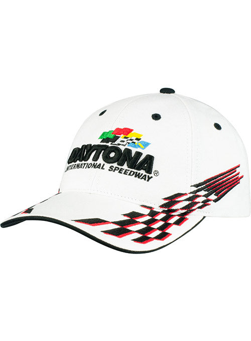 Daytona International Speedway White Checkered Flag Hat