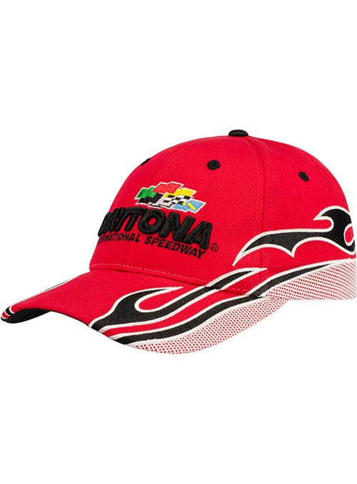 Daytona International Speedway Red Flame Hat