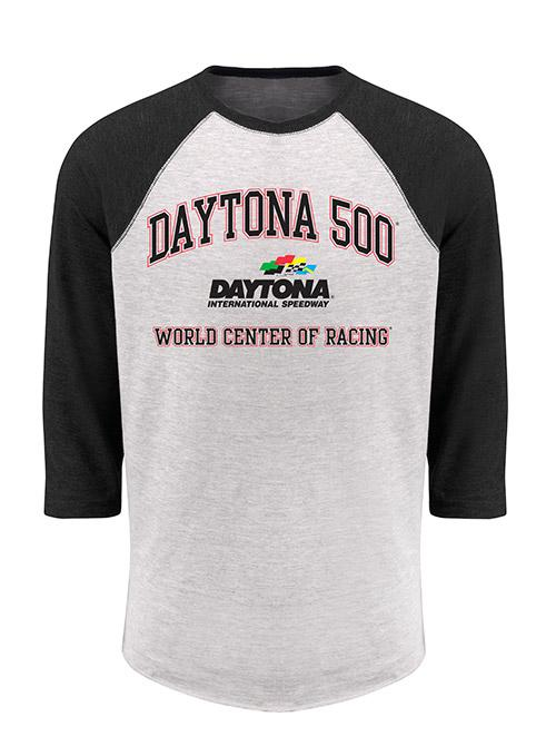 DAYTONA 500 World Center of Racing 3/4 Sleeve T-Shirt