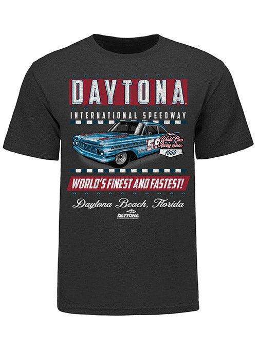 Daytona Internatiional Speedway Retro Car T-Shirt