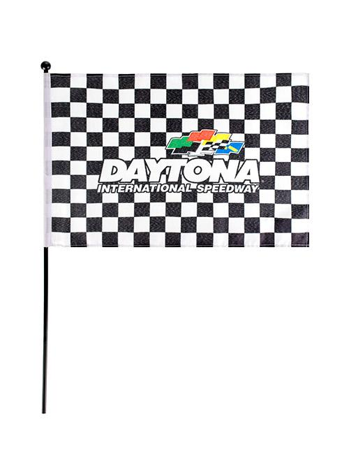 Daytona International Speedway Checkered Stick Flag