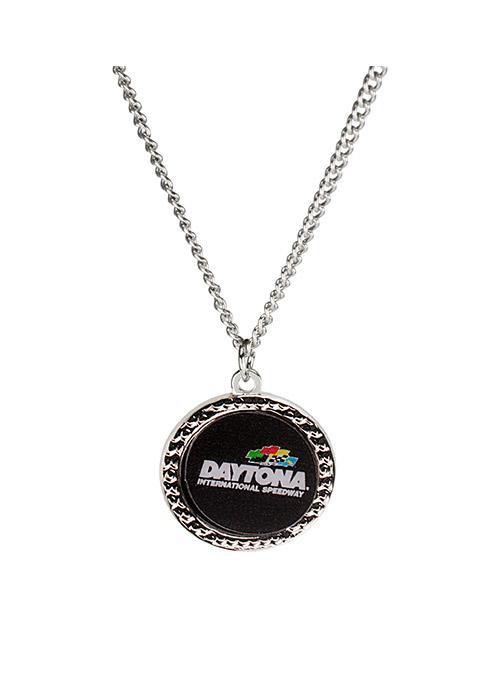 Daytona International Speedway Hammered Necklace