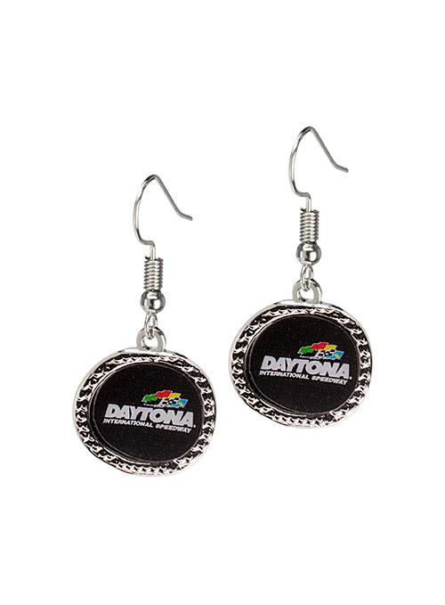 Daytona International Speedway Hammered Earrings