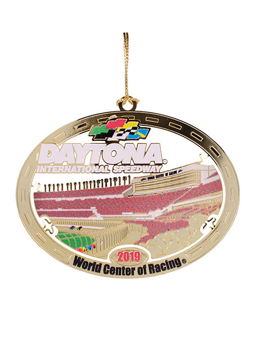 2019 Daytona International Speedway Gold Ornament