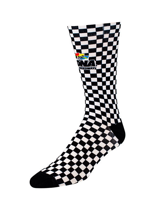 Daytona International Speedway Checkered Sock