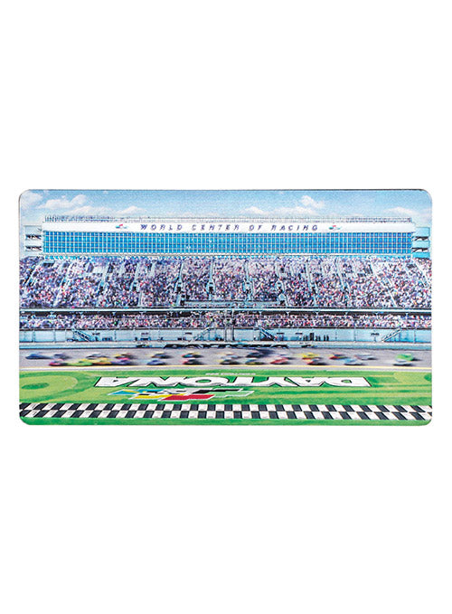 Daytona International Speedway Double Sided Metallic Magnet