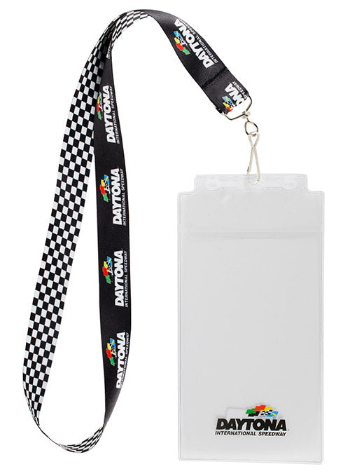 Daytona International Speedway Checkered Credential Holder
