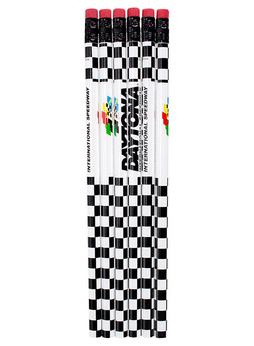 6-Pack Daytona International Speedway Pencils