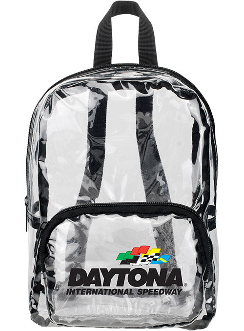 Daytona International Speedway MINI Clear Backpack