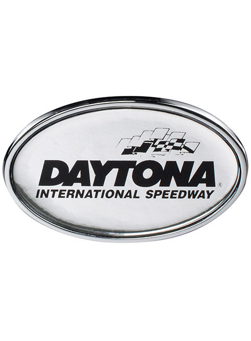 Daytona International Speedway Chrome Auto Emblem