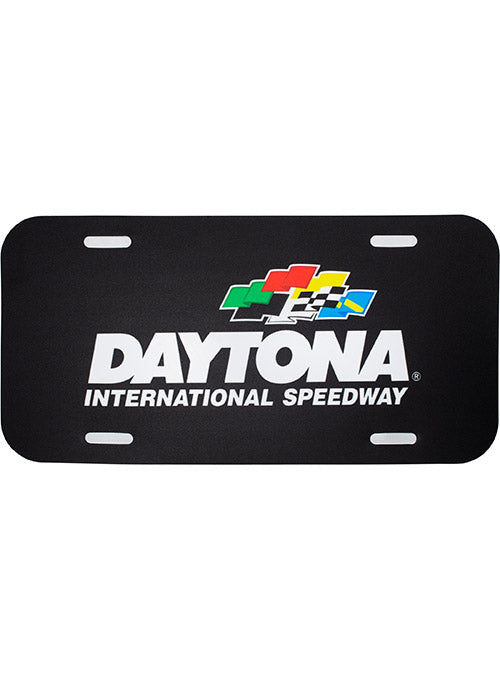 Daytona International Speedway Plastic License Plate