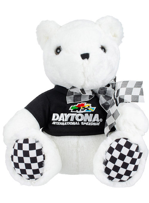 Daytona International Speedway Checkered Paw Teddy Bear
