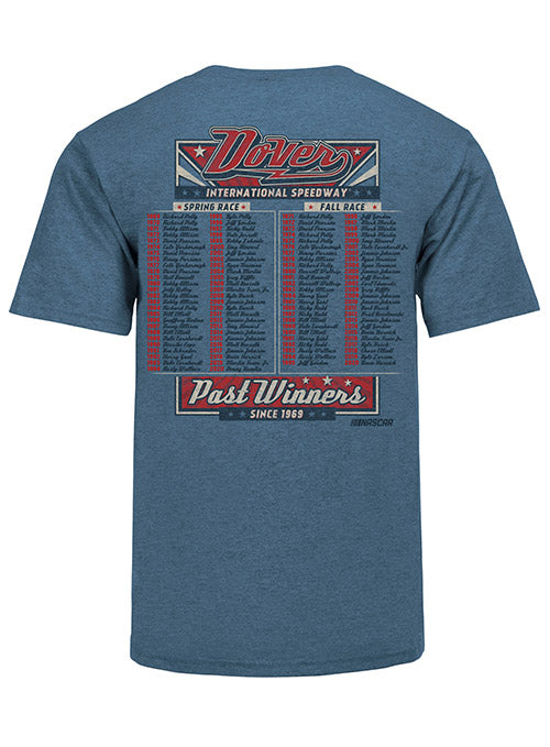2021 Dover Past Champs Tee- Blue