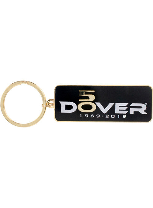 Dover International Speedway 50th Anniversary Metal Keychain