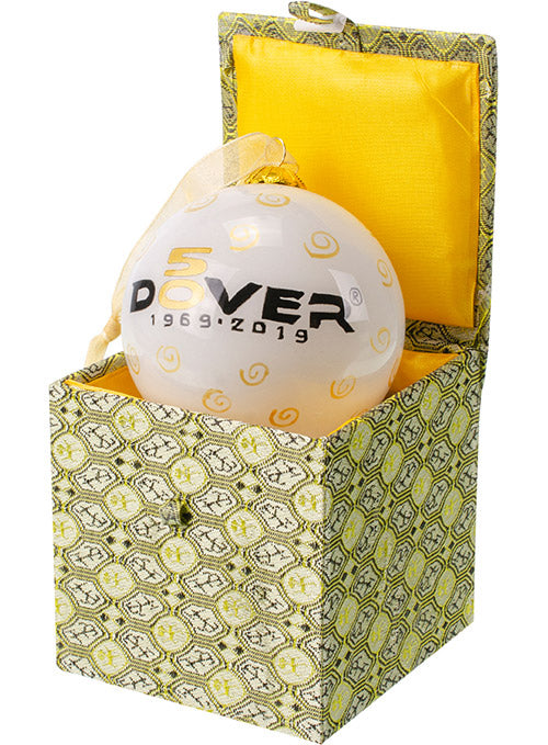 Kitty Keller Designs Dover International Speedway 50th Anniversary Glass Ornament