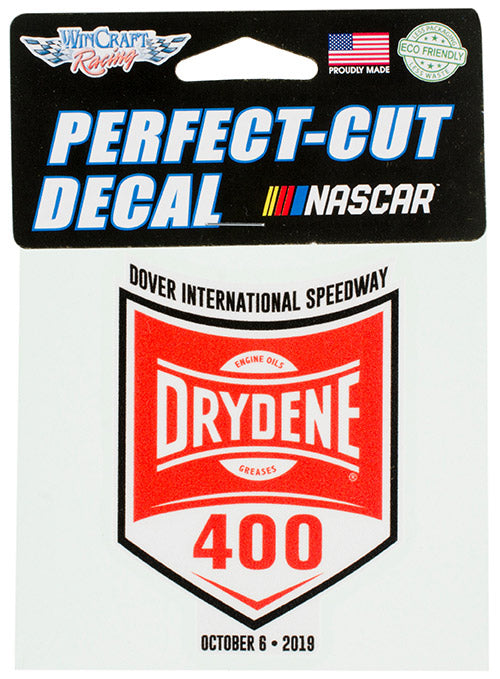 2019 Drydene 400 Decal