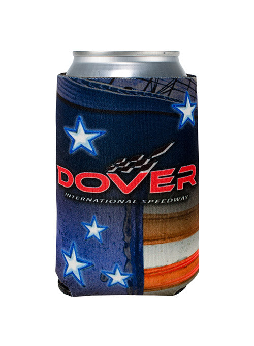 Dover International Speedway Patritotic Can Cooler