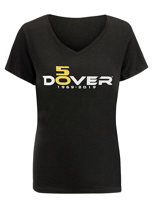 Ladies 2019 Dover International Speedway 50th Anniversary T-Shirt